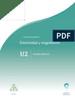 Unidad 2 Circuitos eléctricos, UNADM