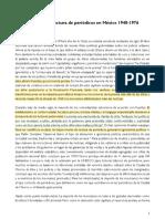 El auge de la lectura de periódicos en México 1940-1976