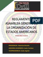 REGLAMENTO OEA (MUN) PDF