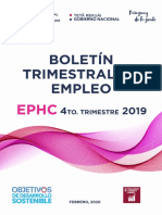 fae0_Boletin trimestral de empleo EPHC_T4_2019