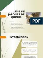 JABON DE QUINUA Análisis Empresarial