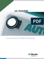 Manual de potenciostato Metrohm Autolab