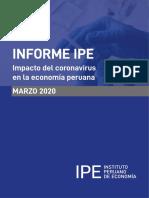 Impacto del coronavirus en la economía peruana