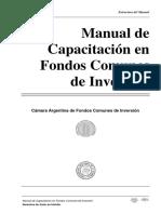 Manual_de_Capacitacion Fondos Comúnes de Inversión
