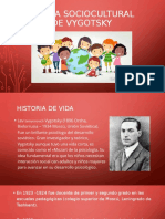 TEORÍA SOCIOCULTURAL DE VYGOTSKY terminado