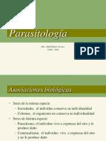 Parasitologia - Clase 1.1. Introduccion