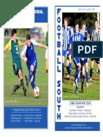 Otago Match Programme