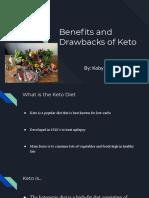benefits and drawbacks of keto  1