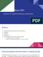 Live de Python #31