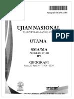 UN SMA 2017 Geografi