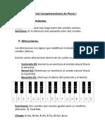 Material Complementario de Piano I