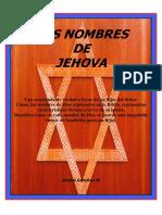 Los Nombres de Jehova PDF