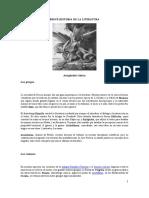 BREVE HISTORIA DE LA LITERATURA