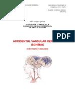 Referat Accidentul Vascular Cerebral