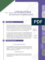 Ley aprobatoria de Tratado Internacional Colombia