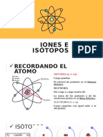 Resumen sobre isótopos e iones