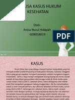ANALISA KASUS HUKUM KESEHATAN.pptx