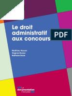 Matthieu Houser, Virginie Donier, Nathalie Droin - Le Droit Administratif Aux Concours-La Documentation Française (2015)