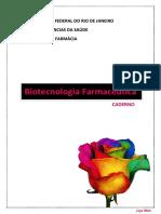 Caderno de Biotecnologia Farmacêutica