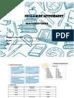 Cuadernillo de actividades 5to grado