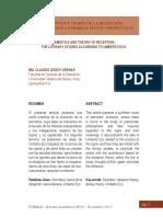 Semiótica y teoría de la recepción_Los estudios literarios según Umberto Eco