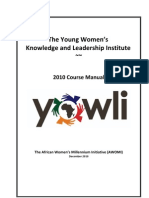 YOWLI2010CourseManual