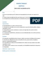 Primer Trabajo Bioetica- Maria Jose Calderon