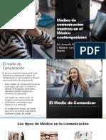 Medios de comunicación masivos en el México contemporáneo