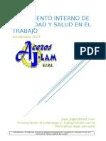 JLAM-SEG-R-RISST-001 Reglamento Interno de SyS en el Trabajo.