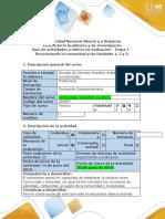 Guía de actividades y rúbrica de evaluación – Etapa 1 – Reconocer la comunidad y las Unidades 1, 2 y 3 (1).docx
