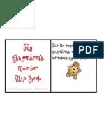 My Gingerbread Men Number Flip Book 1-20