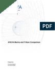 AVEVA Marine -Tribon Comparison