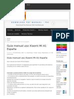 Guia Manual Uso Xiaomi Mi A1