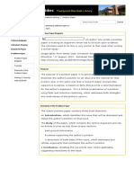 Position Paper - Academic Writing - LibGuides at Bowie State University