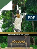 ODUDUWA y ORUNBILA By OGGUNBIADDE