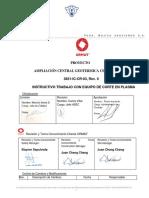 3831-IC-CR-03  INSTRUCTIVO  TRABAJO CON EQUIPO DE  CORTE EN PLASMA REV.0