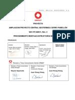 3831-PC-EM-01 PROCEDIMIENTO MONTAJE ESTRUCTURAS METALICAS Rev.2.pdf