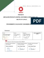 3831-PC-CV-10  PROCEDIMIENTO COLOCACIÓN   Y DESCIMBRE DE MOLDAJES, Rev.0.pdf