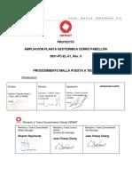 3831-PC-EL-01 PROCEDIMIENTO MALLA PUESTA A TIERRA  Rev.0.pdf