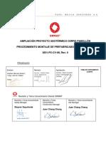 3831-PC-CV-08 PROCEDIMIENTO MONTAJE  PREFABRICADOS DE HORMIGÓN Rev.0.pdf