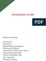 Intro to IMC