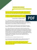 REGLAMENTO DE EVALUACION Y CALIFICACIONES