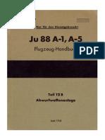 Ju 88 A-1, A-5 Flugzeug- Handbuch