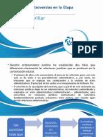 19 Solución de controversias en la etapa contractual.
