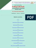 Berg, Carl-Friederich - Wolfsgesellschaft (1995, 138 S.)