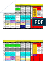 YMCA North and South Gym Schedule