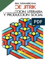 Produccion Literaria y Produccion Social 788280