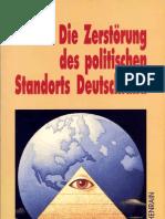 Franzis, Hermann - Die Zerstörung des politischen Standorts Deutschland