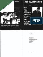 Honsik, Gerd - Der Blumenkrieg (99 Doppels., Scan)