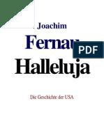 Joachim Fernau_Halleluja Die Geschichte Der USA